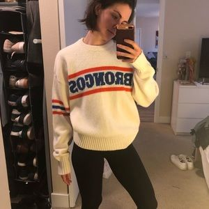 Sweaters - Vintage Broncos knit sweater